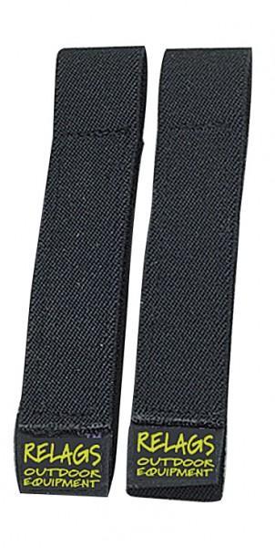 Relags 'STRAPits' 40 cm schwarz, 2 Stück