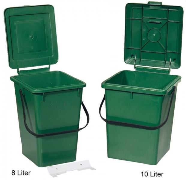 Mülleimer mit Befestigungleiste 8 Liter