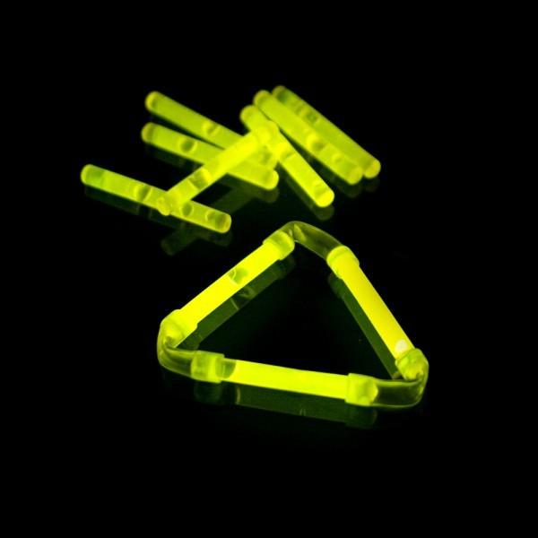 Knicklicht, 3,9 cm, Box mit 40 x 2 Stück gelb