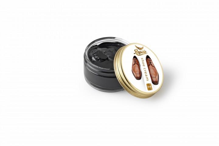 Rapide Schuhcreme für Glattleder schwarz