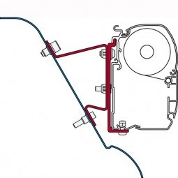 Fiamma Adapter F45 Kit Sprinter H3