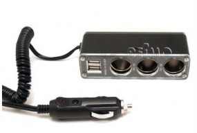 Carbest 3-fach-Verteiler mit USB