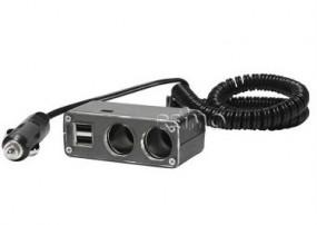 Carbest 2-fach-Verteiler mit USB