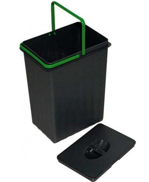 Einbau-Abfallsammler 7,5 Liter anthrazitgrau