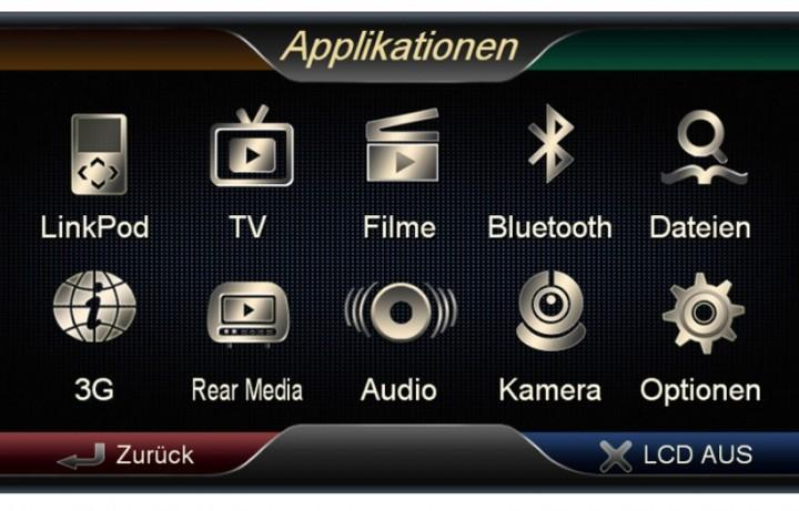 Navigationssystem ESX Vision VNC711 FI-Ducato