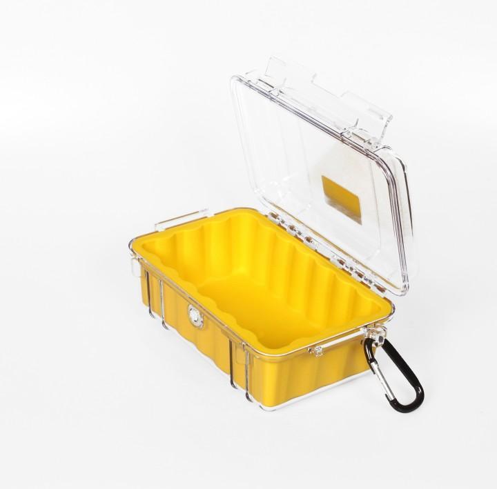 Peli 'MicroCase 1050' klar / gelb