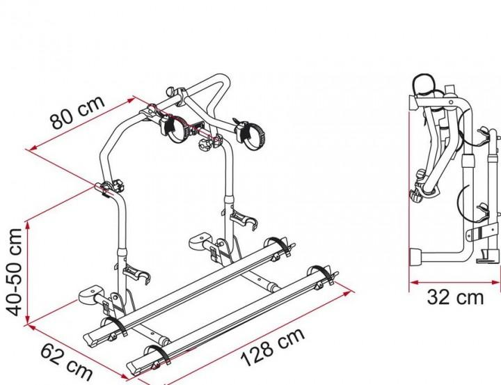 Fahrradträger Heckträger Carry-Bike L80-Laika