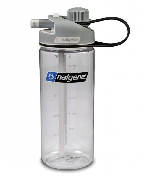 Nalgene 'Multi Drink' 0,6 L, transparent