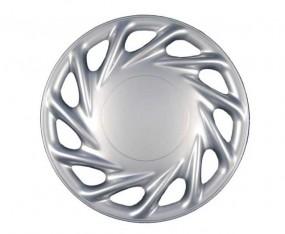 Radzierblende Genf 17 Zoll Silberfarbig