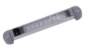 LED 12V Alu-Linienleuchte 6 LEDs schwenkbar 1 Watt