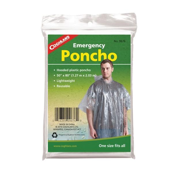 Coghlans Notfall-Poncho transparent