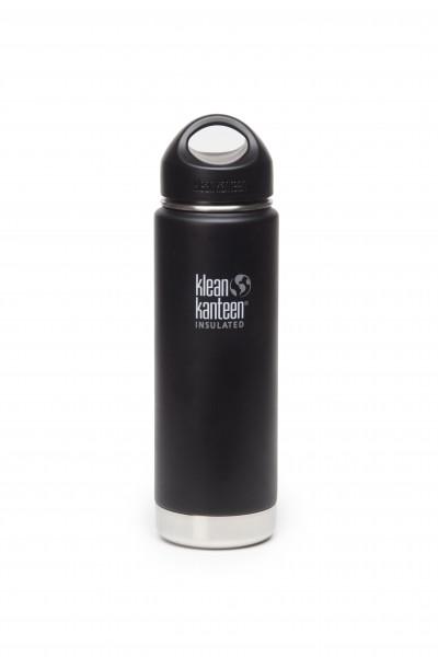 Klean Kanteen Flasche 'Insulated' matt schwarz, 0,592 L