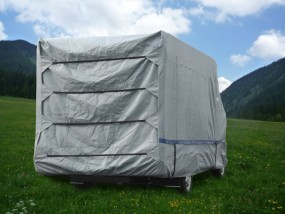 Hindermann Reisemobil Schutzhülle 730 cm Wintertime für kompakt-integrierte Reisemobile