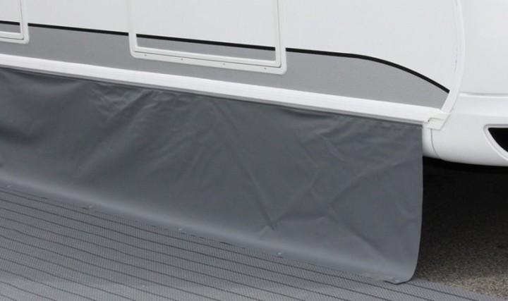 Bodenschürze Premium Dunkelgrau-Hellgrau 5 x 0,75 m