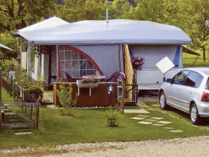 Schutzdach Nellen Typ 3 für Aufbaulänge 451 - 500cm