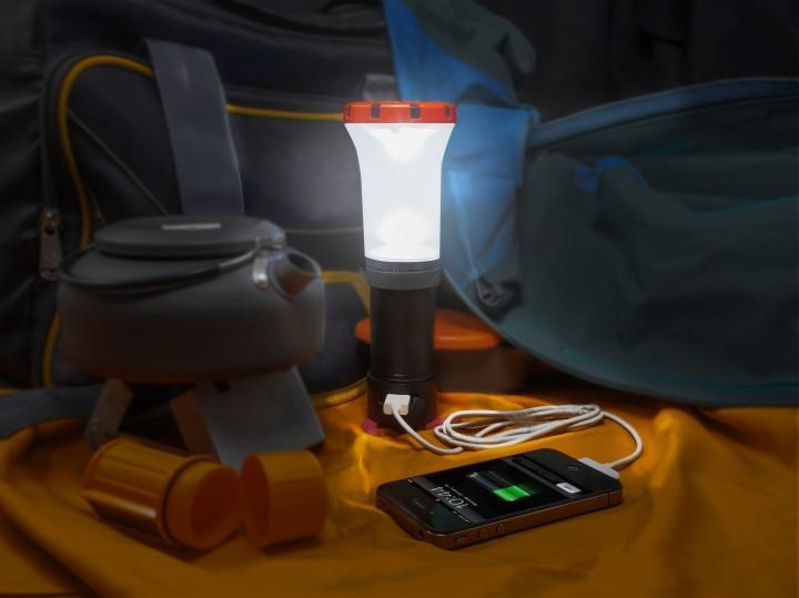 UCO Arka Camping LED Laterne & USB-Ladegerät