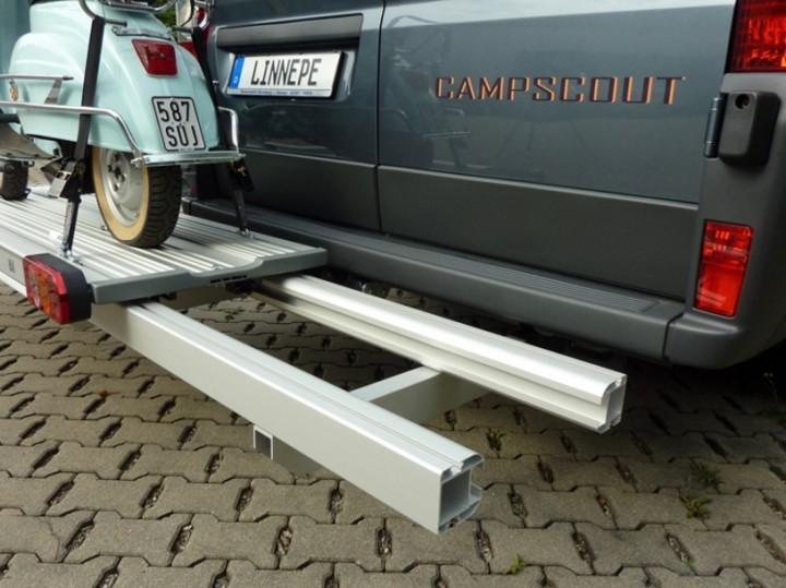 Linnepe Lastenträger SlidePort kurzer Überhang