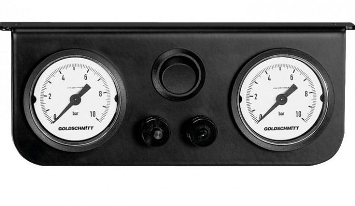Goldschmitt-Luftfedersystem für Fiat Ducato Baujahr 1994 - 06/2006 Zweikreissystem