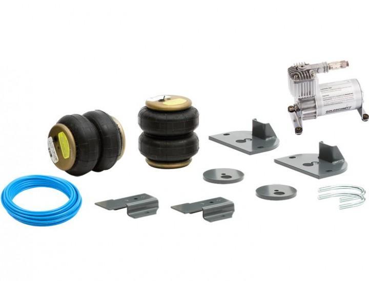 Goldschmitt-Luftfedersystem für Fiat Ducato ab 05/2014 Einkreissystem mit Fahrerhausbedienteil