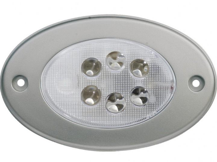 LED-Einbauleuchte satiniert 12 Volt