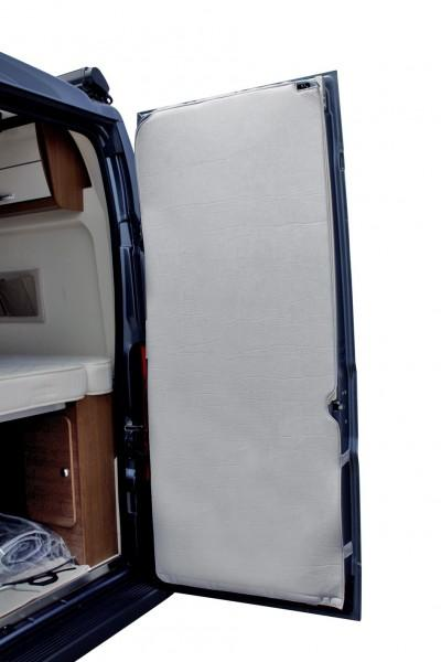 Hecktürisolierung für Fiat Ducato ab Baujahr 07/2006 Hellgrau