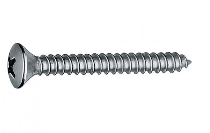 Friesleisten Befestigungs-Schraube A 2 2,9 x 19, DIN 7983