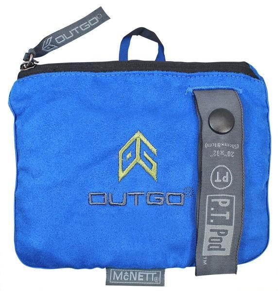 McNett Outgo Handtuch 'PT Pod' cobalt blau