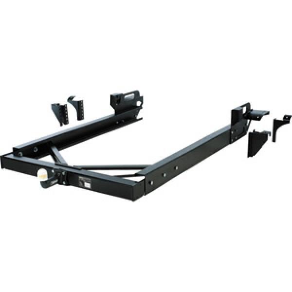 Schwerlast-Anhängekupplung für Fahrzeuge mit Überhängen ohne / mit nicht tragfähiger Rahmenverlänger