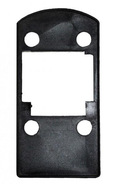 HSC Unterlegplatte 10 mm Kunststoff schwarz