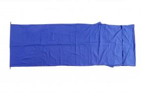 Basic Nature Baumwollinlett Deckenform royalblau