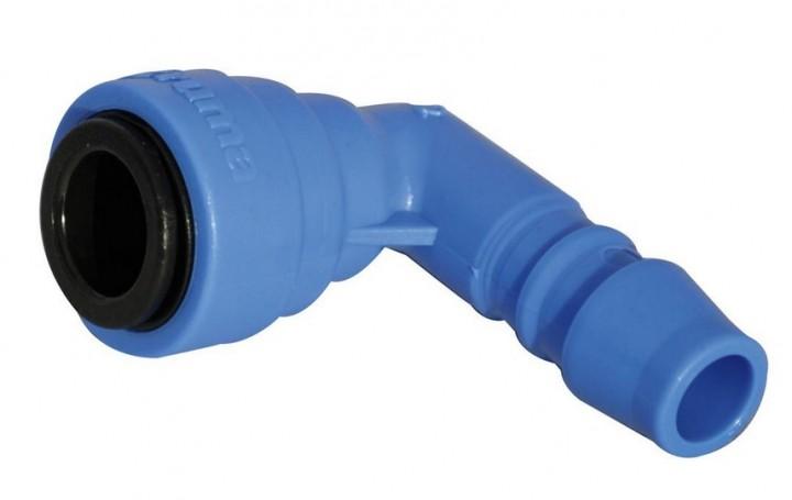 Winkelanschluss blau TB flex 10 mm für Trumatic Combi D6