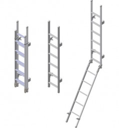 Omni-Leiter deluxe 11-stufig klappbar