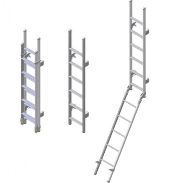 Omni-Leiter deluxe 6-stufig