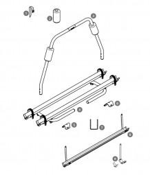 Y-Schiene für Thule Fahrradträger