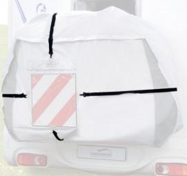Hindermann Spanngurte für Warntafel-Tasche