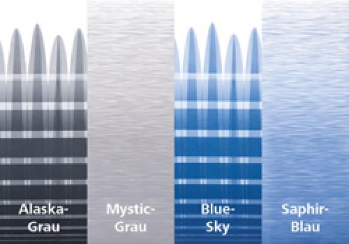 Thule Omnistor 5003 Gehäuse weiß 2,60 x 2,00m Mystic-Grau