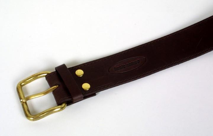 Basic Nature Geldgürtel 'Classic' mokka, 105 cm