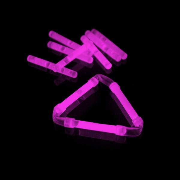 Knicklicht, 3,9 cm, Box mit 40 x 2 Stück pink