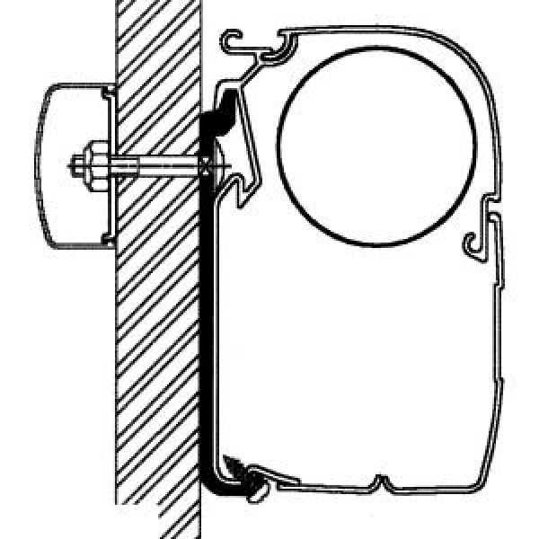 Flat-Adapter für Thule Omnistor Serien 5 und 8, Länge 5 m