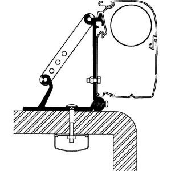 Flat-Adapter für Thule Omnistor Serien 5 und 8, Länge 3 m