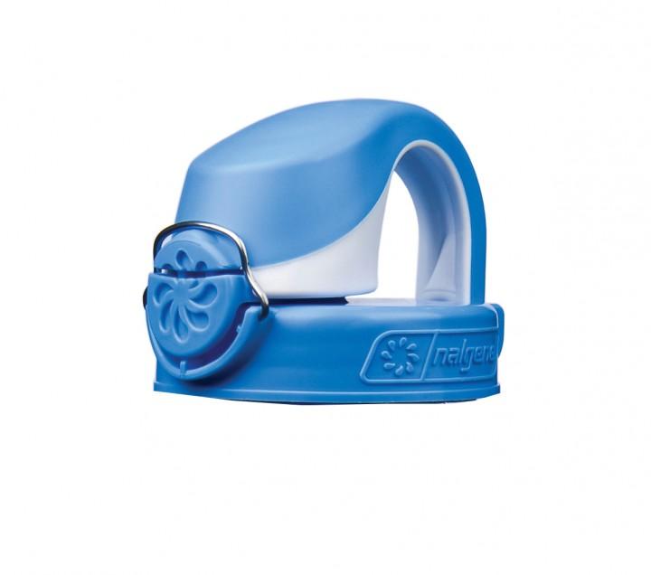 Nalgene Deckel zur OTF Flasche blau-weiß