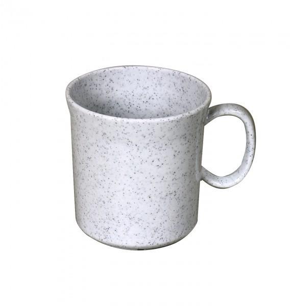 Waca Melamin, granit Henkelbecher 400 ml