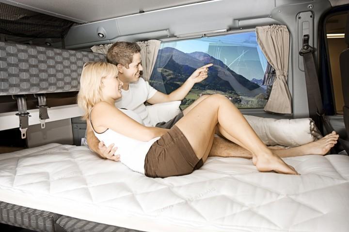 Matratzenauflage für Wohnmobil und Caravan Multikomfortauflage 141-200 x 210 cm