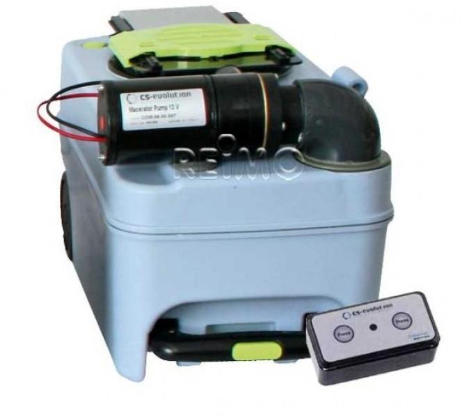 WC-Entleerung für Dometic Cassette CT 3000 und CT 4000