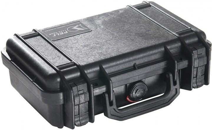 Pelibox 1170 schwarz, mit Schaumeinsatz