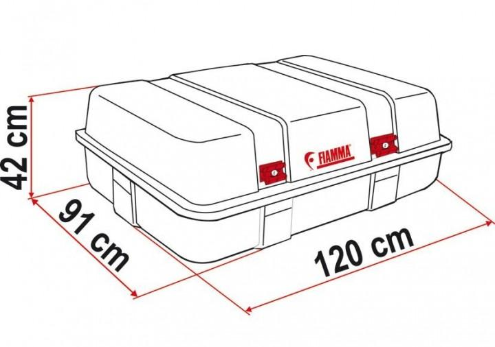 Fiamma Dachbox Ultra Box 2 Top