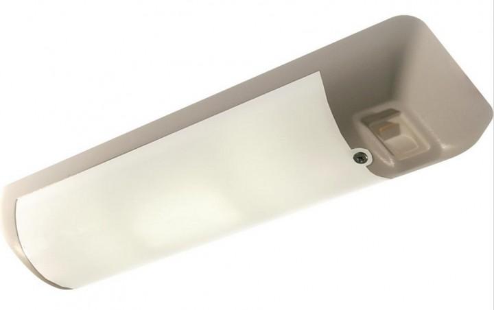 LED-Leuchte Soft mit Schalter matt silber