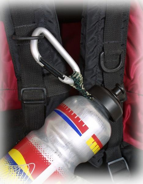 EK Flaschenhalter mit Karabiner