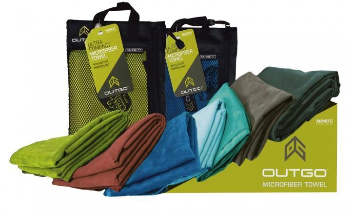 McNett Outgo Handtuch 'MicroNet' M, grün