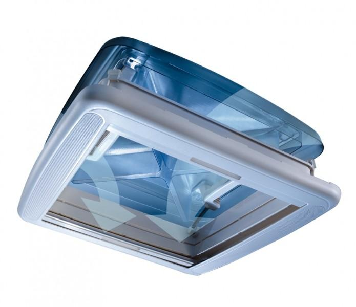 Dachfenster AirQuad 4 40 x 40 cm 43–60 mm für Reisemobile